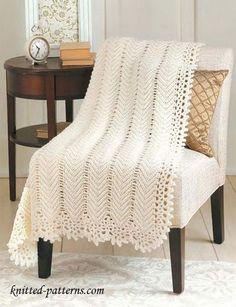 Crochet Blanket Free Pattern.