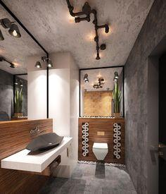 ванная комната лофт - Buscar con Google
