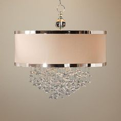 I'm desperately in love with this chandelier.  Not quite in the budget :(