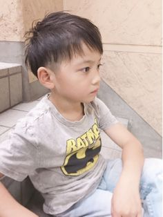 See related links to what you are looking for. Kids Short Haircuts, Girl Haircuts, Boy Hairstyles, Short Hair Cuts, Short Hair Styles, Japanese Haircut, Kids Cuts, Hair Arrange, Toddler Boy Fashion
