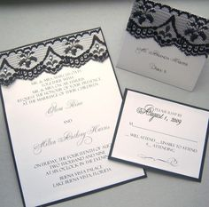 black and white wedding package