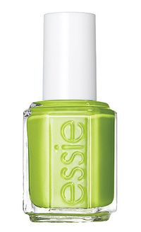 Our favorite nail color for June adds a splash of citrus to your mani/pedi.
