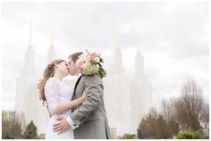 Washington DC LDS Temple Wedding by @elovephotos
