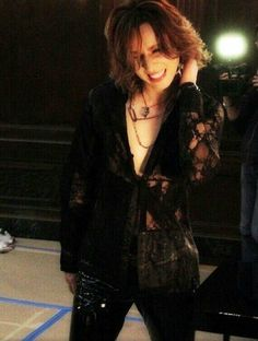 Yoshiki beautiful smile