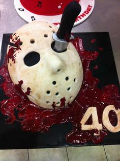 Friday 13th inspired cake