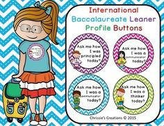 Free for first 24 hours. International Baccalaureate: IB buttons hours of post… Teacher Tools, Teacher Resources, Learning Resources, Teaching Special Education, Inquiry Based Learning, Ib Classroom, Classroom Organization, Ib Attitudes, Ib Learner Profile
