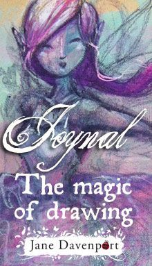 Draw Fairies and Mermaids Jane Davenport - Art Journal pages http://www.janedavenport.com