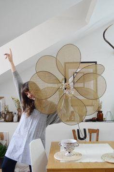 diy home DIY suspension design - Diy Suspension, Suspension Design, Diy Interior, Diy Luminaire, Diy Pendant Light, Diy Home Accessories, Diy Porch, Blog Deco, Salon Design
