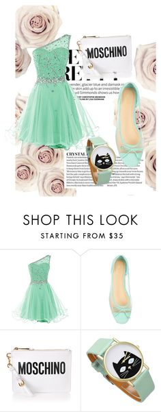 """""""Untitled #29"""" by martinakasumovic ❤ liked on Polyvore featuring John Lewis and Moschino"""