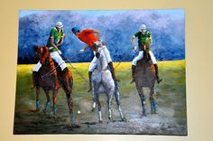 Beautiful polo painting!