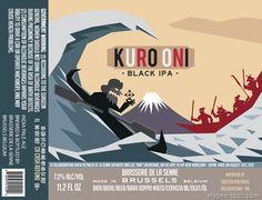 Brasserie De La Senne - Kuro Oni Black IPA