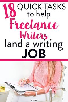 Freelance writing tips to help you gain clients quickly when you have no time. Doing this as a side hustle are you? Freelance writing quick to-do tasks to increase time management and productivity so you can land freelance writing jobs. Online Writing Jobs, Freelance Writing Jobs, Easy Online Jobs, Make Money Online, Creative Jobs, Quitting Your Job, Freelance Graphic Design, Business Motivation, Business Tips