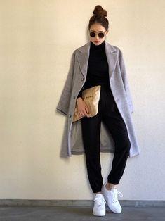 Work Fashion, Fashion Pants, Fashion Design, Street Look, Baby Blanket Crochet, Casual Chic, New Look, Women Wear, Normcore