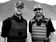 """Christian missionaries Timothy Scott, left, and Will Decker face dangerous conditions and harsh criticism to spread their message around the world. They produce a show called """"Travel the Road,"""" which airs on Trinity Broadcasting Network."""