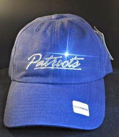 New England Patriots Swarovski Rhinestone Bling Hat www.babywantsbling.com
