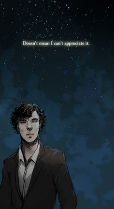 I'm not usually one for the this type of Sherlock fan art, but for this I'll make an exception.<--Same, very beautiful! Sherlock Holmes, Fan Art Sherlock, Sherlock John, Watson Sherlock, Jim Moriarty, Sherlock Quotes, Benedict Cumberbatch, Johnlock, Martin Freeman