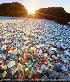 Sea Glass Beach, Ft. Bragg, CA