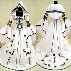 Probably not meant as a wedding dress but I think it would be beautiful as one