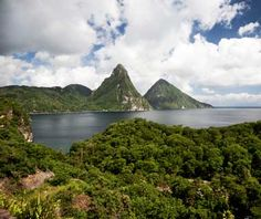 No. 27 St. Lucia    The jungle-draped twin peaks of the Pitons give St. Lucia the Caribbean's most dramatic backdrop—and signal that this is an island blessed with a variety of landscapes, among them, black-sand beaches, cocoa plantations, and Creole villages. Get an up-close perspective on island life by staying in a bungalow at the 130-acre Fond-Doux Holiday Plantation, a cocoa and tropical fruit plantation with two open-air restaurants.