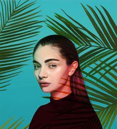 DiggingKemi Mai and Her Beautifully Lit Digital Portraits on...