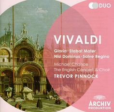 English Concert Trevor Pinnock - Vivaldi