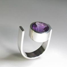 silver, amethyst OR silver, blue topaz OR silver, smoky topaz Please specify at comments when purchasing Contemporary Jewellery, Modern Jewelry, Metal Jewelry, Diamond Jewelry, Jewelry Rings, Unique Jewelry, Silver Jewelry, Fine Jewelry, Silver Earrings