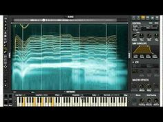 iZotope Iris - record audio, work with visual data to generate process audio