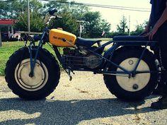 The Rokon Trail Breaker - the go-anywhere 2-wheel-drive wonder.  I miss mine!