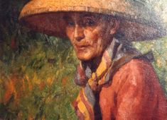 """Fernando Amorsolo y Cueto, Filipino painter, was an important influence on contemporary Filipino art and artists, even beyond the so-called """"Amorsolo school"""". Subjects: Philippine Genre, historical and society Portraits. Filipino Art, Filipino Culture, Munier, Philippine Art, Artists Like, Beautiful Paintings, Art Techniques, Asian Art, Landscape Paintings"""