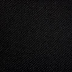 Dugdale Flannel: Black Twill 14 Oz