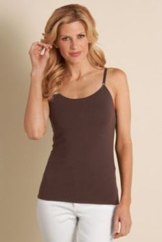 Cotton Underwire Cami - Underwire Cami, Bra Top Cami, Camisole Bra Top | Soft Surroundings