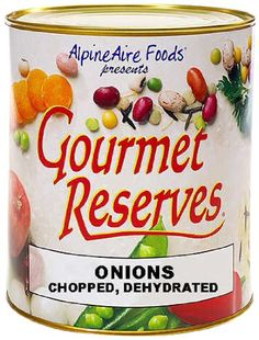 Camping Kitchen :AlpineAire Foods Gourmet Reserves Chopped Dehydrated Onions - 10-Can >>> Trust me, this is great! Click the image. : Camping Kitchen