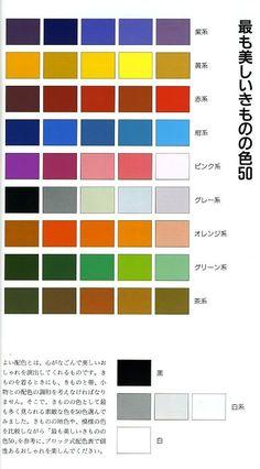 Kitsuke - Kimono color coordination