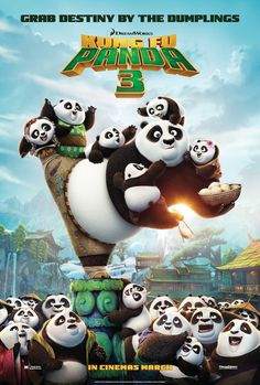 Latest Trailer and Poster for Kung Fu Panda 3 Released Revealing the New Enemy