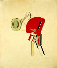 El Lissitzky : 'Prouns' Series