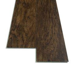 Shop Shaw Matrix Franklin Hickory Floating Vinyl Plank