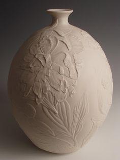 Peonias carving 3