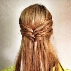 Gorgeous Half Braid