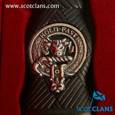 MacLeod Clan Crest Sgian Dubh. Free worldwide shipping available