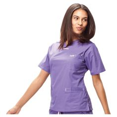 IguanaMed Women's Quattro Scrub Top -