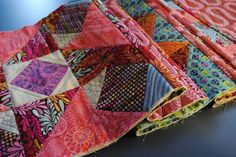 Learn how to join quilted blocks with this Quilt as you Go method and tutorial for joining quilt blocks.- 3