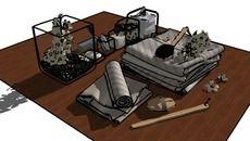 Collection of 3D Models: Decoração Banheiro