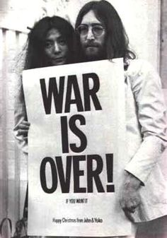 John & Yoko. The world's first couple.