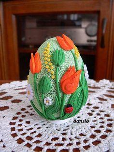 Risultati immagini per quilling ostern Quilling Tutorial, 3d Quilling, Quilling Patterns, Quilling Designs, Egg Crafts, Easter Crafts, Diy And Crafts, Quilled Paper Art, Quilling Paper Craft