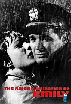 1964 The Americanization of Emily. Julie Andrews and James Garner.
