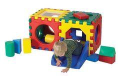 Double Jr. Snap Cube Set w/ Set of 16 Blocks