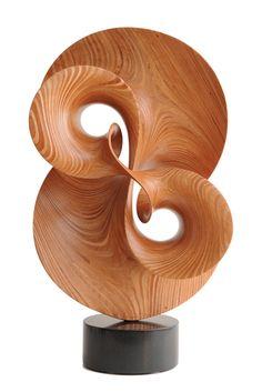 Robert Longhurst --Find an artist for your next project - CODAworx - Holzschnitzen , Modern Sculpture, Abstract Sculpture, Wood Sculpture, Metal Sculptures, Bronze Sculpture, Wood Carving Art, Wood Creations, Art Moderne, Wooden Art