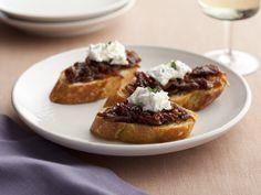 Crostini with Sun-Dried Tomato Jam Recipe : Giada De Laurentiis : Food Network - FoodNetwork.com