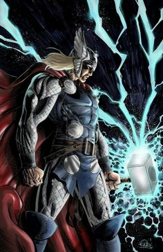 Thor, my favorite marvel character Comic Book Characters, Marvel Characters, Comic Books Art, Comic Art, Marvel Comics Art, Marvel Heroes, Xman Marvel, The Mighty Thor, Comic Pictures