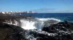 Bufadero de La Garita - Telde - Gran Canaria Canario, Niagara Falls, Waterfall, Nature, Travel, Outdoor, Islands, Traveling, Little Cottages